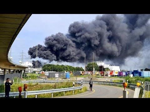 Tragedia mortal en una planta química de la ciudad alemana de Leverkusen