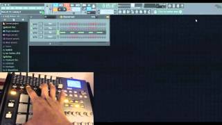 Tutorial: How to use Akai MPD32 note repeat in FL Studio