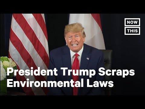 Trump Waives Environmental Protection Regulations | NowThis
