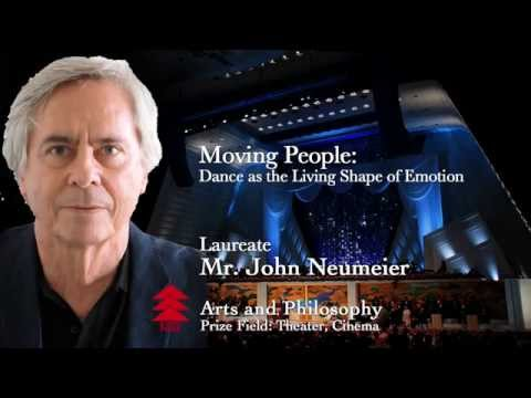 Mr. John Neumeier - The 2015 Kyoto Prize Commemorative Lectu