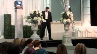 Boston Wedding Expo - Chris Lambton on the Catwalk