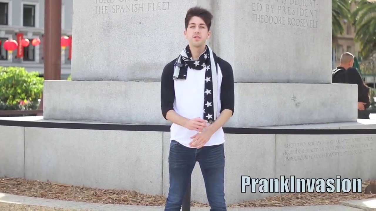 Kissing Prank | Valentine's Edition | Prank Invasion!