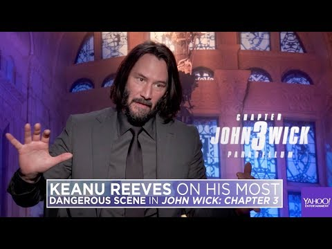 Keanu Reeves acts out his most dangerous scene in &39;&39;John Wick: Chapter 3 – Parabellum&39;