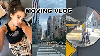 MOVING TO NYC VLOG 02: Thrift Haul, Seeing Friends, Thrift With Me