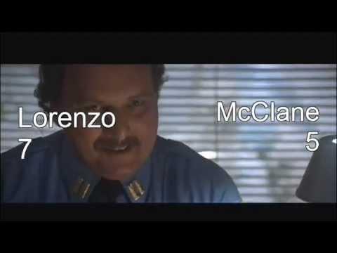 Die hard 2 - John McClane VS Lorenzo