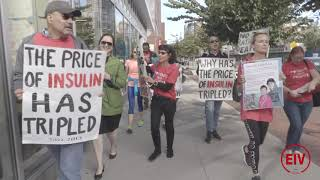 FIELD: Protest On Raised Insulin Prices