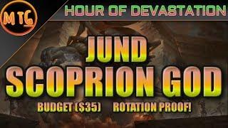 jund scorpion god in hou standard budget deck tech rotation proof