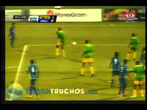 Guyana Vs El Salvador (Goles 2 - 3) Eliminatoria Brasil 2014