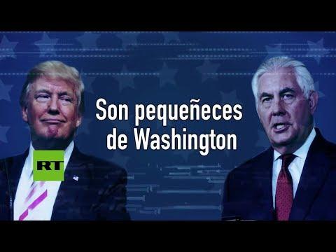Todo sobre los rumores de tensión entre Trump y su secretario de Estado
