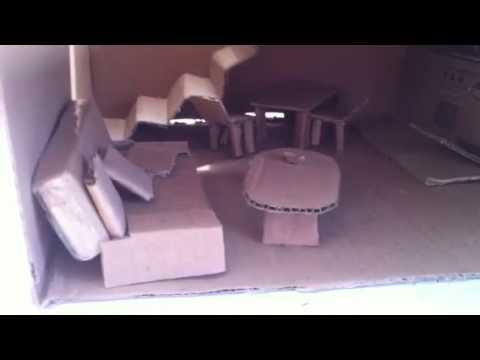 Casa modellino di cartone youtube - Casa di cartone ...