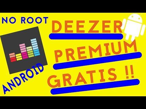 Deezer Premium Gratis su Android | No Root
