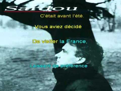Le bac G de Michel Sardou karaoke by biccounnet