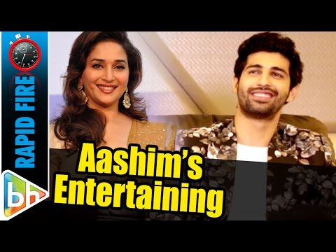 Aashim Gulati's ENTERTAINING Rapid Fire On Kissing Madhuri Dixit | Iron Man Under The Sheets