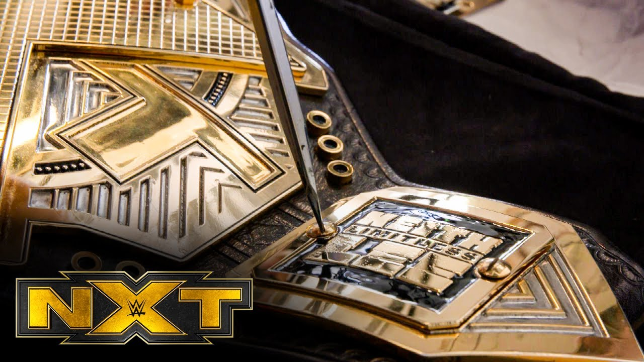 Keith Lee's side plates are installed on the NXT Title: NXT Exclusive, July 15, 2020