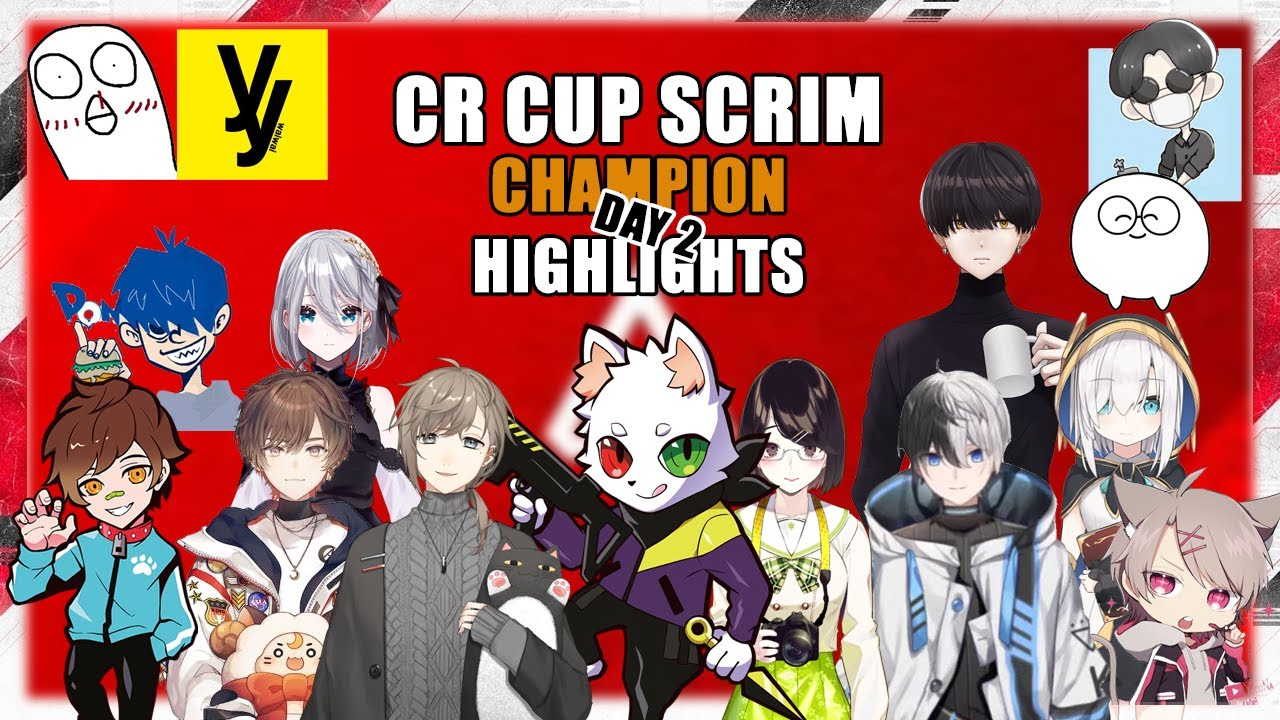 CR CUP Scrim day 2 Champion Highlights ǀ ft. Ras, Amatsuki, Tie_Prize and Others ǀ 6th APEX CR CUP