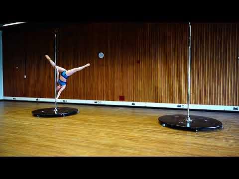 Welsh Pole Fitness Varsity 2018 - 1st Place Intermediate - Sarah McIntyre