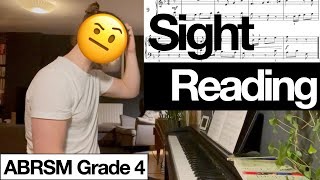 Sight Reading Grade 4 ABRSM   Month 14   Adult Piano Progress