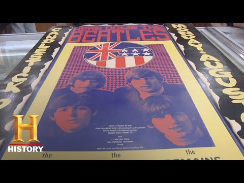 Pawn Stars: The Beatles Poster From Candlestick Park (Season 6)   History