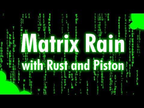 Matrix Rain Effect In Rust