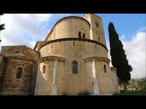 The Abbey of Sant'Antimo Abbazia di Sant'Antimo Montalcino Tuscany Italy by Kari Gröhn karigrohncom