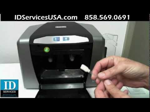 HID Global: Cleaning and Calibrating the DTC1000, DTC4000, and DTC4500 card printer