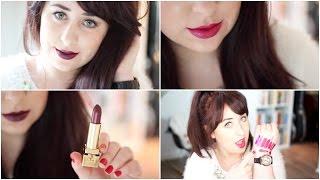 Top 10 Fall/Autumn Lipsticks! (Drugstore & High End) | Gemsmaquillage Thumbnail