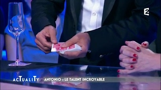 Antonio le magicien bluffe Catherine Jacob #AcTualiTy