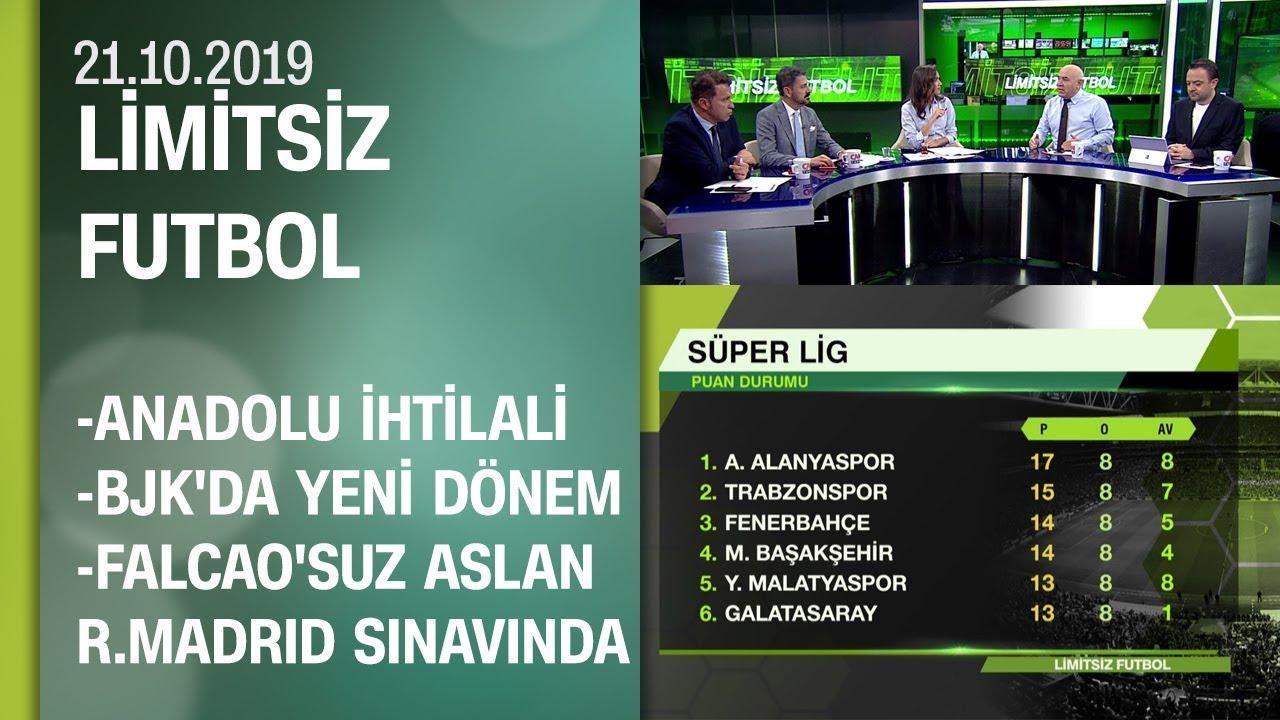 Lig Anadolu ihtilali, Beşiktaş'ta yeni dönem ve Falcao bilinmezliği -Limitsiz Futbol 21.10.2019