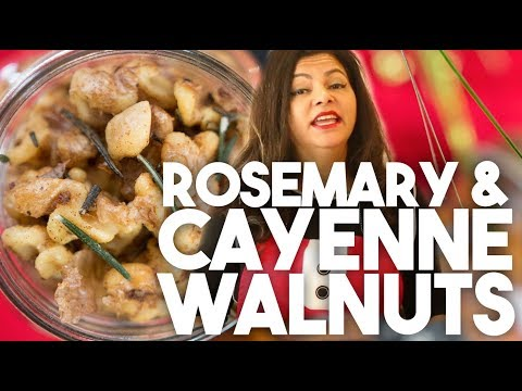 ROSEMARY & CAYENNE WALNUTS | Edible Gifts | Kravings