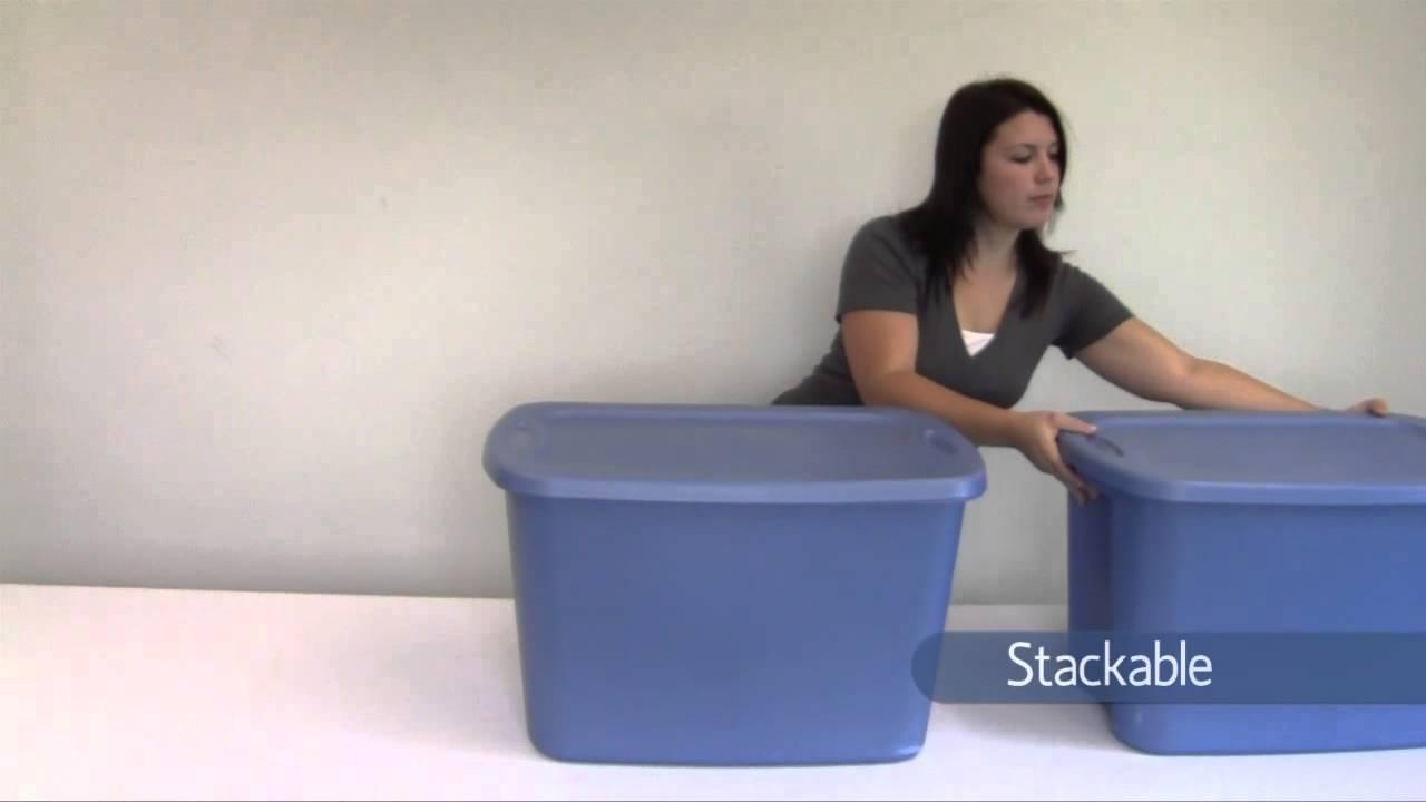 18 Gallon Plastic Storage Bins  sc 1 st  Listitdallas & 18 Gallon Plastic Storage Bins - Listitdallas