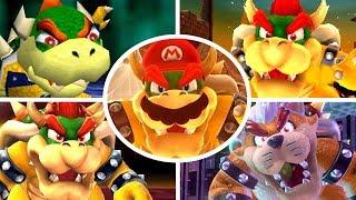 Evolution of Bowser Battles in 3D Mario Games (1996-2017)
