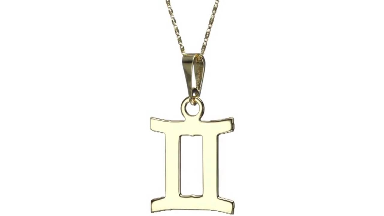 necklace gemini zodiac silver design products settings myel charm with in pendant