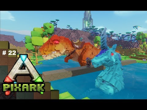 Pixark #22 ~ Rex, A Raft & A Hippocampus