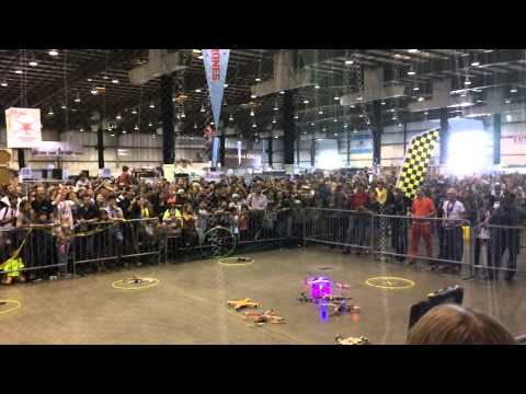 Game of Drones Final Battle @ Maker Faire 2014