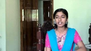 Cheera Poovukalkkumma Kodukkana - by Sneha Mithun from the Movie Dhanam