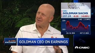 Goldman CEO: We are still profitable on our WeWork investment