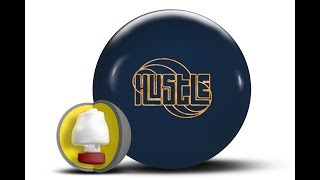 Roto Grip Hustle Ink Pre-Drilled Bowling Ball 11 lb Ink Blue Solid 11