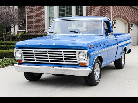 1967 Ford Ranger F100 Pickup Truck For Sale