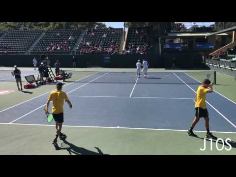 Johnston/Malik (Michigan) vs Fawcett/Goldberg (Stanford) NCAA 2nd Round