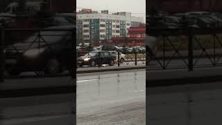 GTA по-всеволожски. Таксист сбил человека из-за 100 рублей. 25.11.2017 г.