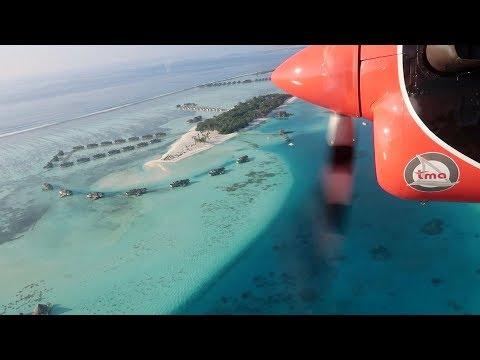 MOST EPIC FLIGHT IN THE WORLD - Maldives seaplane transfer