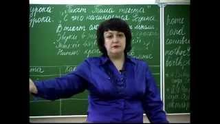 Урок С.С. Мальцевой «Тема текста»