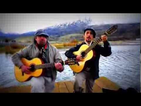 Victor Hernandez y Jorge Contreras. Payada a orillas del General Carrera
