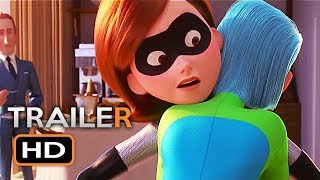INCREDIBLES 2 Movie Clips (2018) Disney Pixar Animated Kids Movie HD