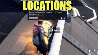 "Fortnite ""Search Chest or ammo boxes at the block"" (Tips & tricks For More Chests at the Block)"