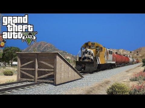 ARRETER Le TRAIN Sur GTA 5