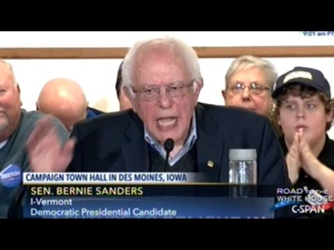 """Bernie Sanders """"The Pharmaceutical Industry Has Got To Stop Ripping Us Off!"""""""