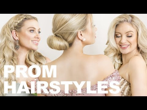 Prom Hairstyles: 3 Cute & Easy Red Carpet Worthy Hairstyles | Milk + Blush Hair Extensions
