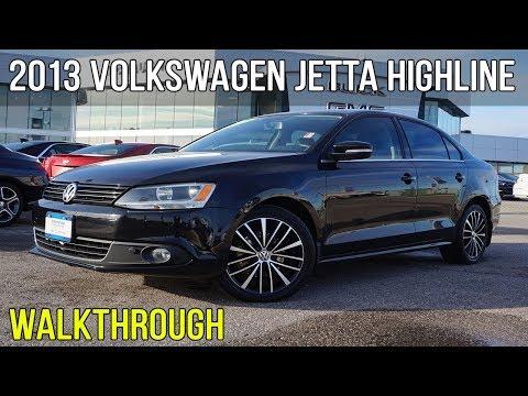 2013 Volkswagen Jetta Highline FWD | 2.5L I-5 (Walkthrough)