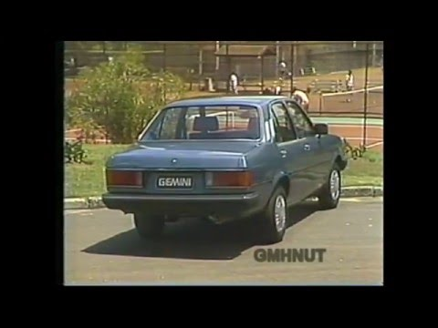 Official Holden Gemini TG Model Range Promotional Information DiscoVision